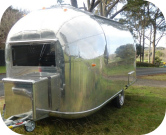 Front View of  Satellite Coffee Trailer