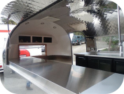 Interior View of  Satellite Coffee Trailer